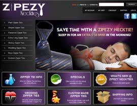 #33 for DESIGN 4 X JQUERY BANNERS FOR DISPLAY ON ZIPEZY NECKTIES' WEBSITE by creationz2011