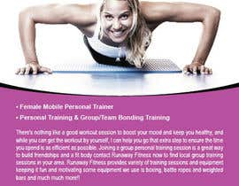 #4 cho Design a Flyer for Runaway Fitness bởi teAmGrafic