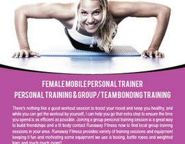 #5 cho Design a Flyer for Runaway Fitness bởi teAmGrafic