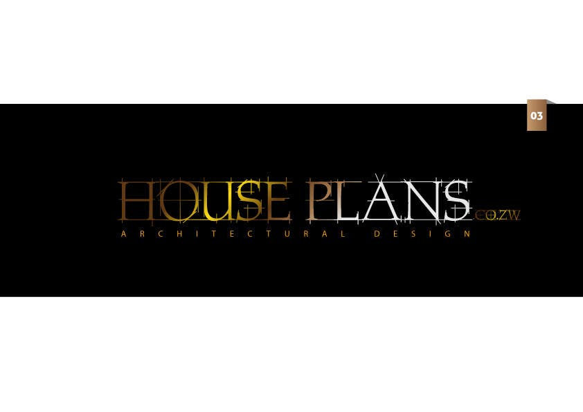 #86 for Design a Logo for HOUSE PLANS Architectural Company by creativeartist06