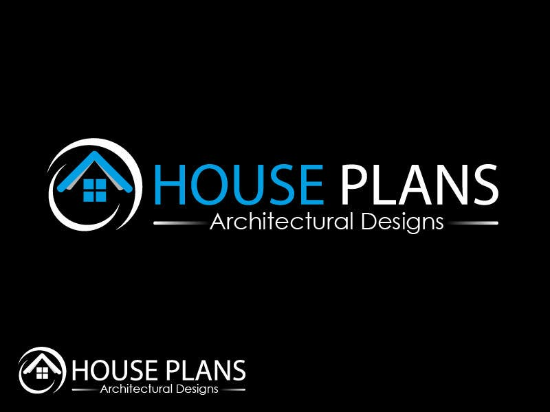Entry 177 by farhanzaidisyed for Design a Logo for HOUSE PLANS