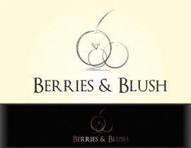 #7 for Design a Logo for Berries and Blush af Acaluvneca