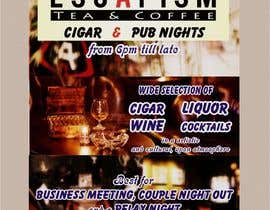 #28 for Design an Advertisement for a Cigar Lounge and Pub af Shrey0017