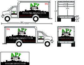 #63 for Vehicle Layout & Advertisement + New Company Logo af EJDE51GN