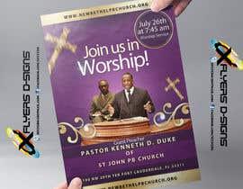 #3 untuk Church Announcement oleh xflyerdsigns