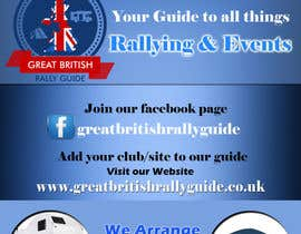 #11 cho Design an Advertisement for Great British Rally Guide bởi gopalnitin