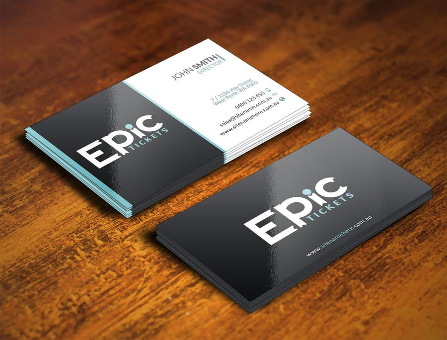 Entry 36 By Youart2012 For Design Some Business Cards For A Ticket