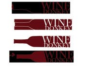 Graphic Design Contest Entry #417 for Logo Design for Wine Donkey