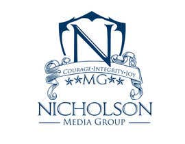 #7 cho Nicholson Media Group Logo bởi aviral90