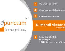 #17 for Design some Business Cards for Adpunctum GmbH af Hirenkarsadiya