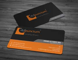 #22 for Design some Business Cards for Adpunctum GmbH af anikush
