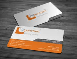 #42 for Design some Business Cards for Adpunctum GmbH af anikush