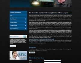#7 para Website Design for Bad Boy Defenders por tania06