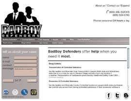 #28 для Website Design for Bad Boy Defenders от twistedpix