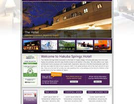 nº 22 pour Hotel website design template par anjaliarun09
