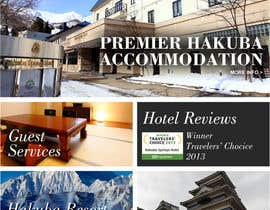 nº 32 pour Hotel website design template par Azavedo
