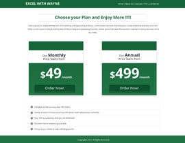 #11 cho Design a Website Mockup for pricing page bởi Lakshmipriyaom