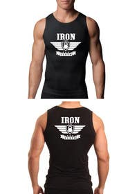 #118 untuk Tank Top design for Iron Cloth oleh murtalawork