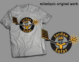 milanlazic tarafından Design a T-Shirt for Solar Company için no 102