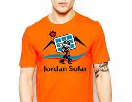 taraskhlian tarafından Design a T-Shirt for Solar Company için no 76