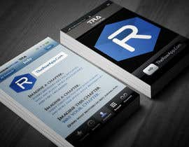 #37 untuk Design some Business Cards for App oleh xflyerdsigns