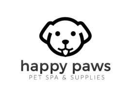 "#18 for Design a Logo for a Pet store ""Happy Paws and Spa"" af CodeSweatPixels"