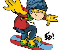 #3 cho Cartoon for Snowboard/Ski Online Shop bởi Ed04