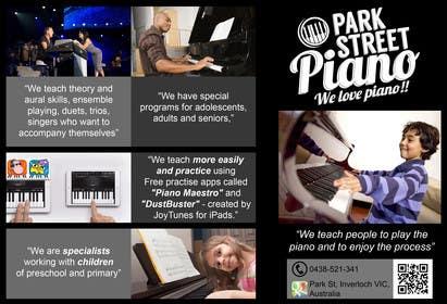 #150 untuk Design a Logo for a Piano Teacher oleh eliasbelisario