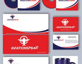 #107 para Develop an Identity (logo, font, style, website mockup) for AviationShake por alexandracol