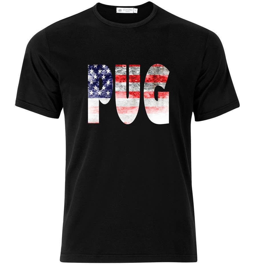 Bài tham dự cuộc thi #15 cho Design a T-Shirt for PUG Lovers