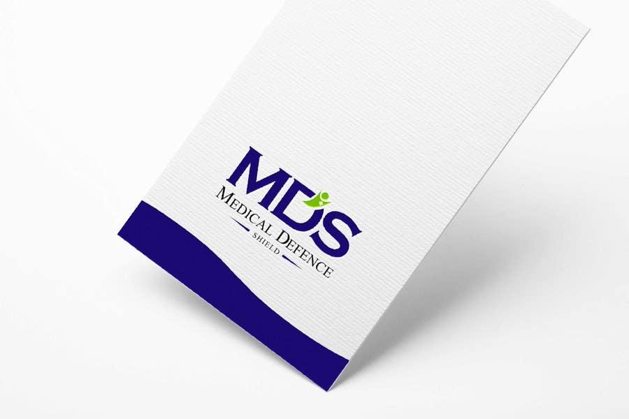 Inscrição nº                                         124                                      do Concurso para                                         Design a new Flat Logo for Medical Defence organisation