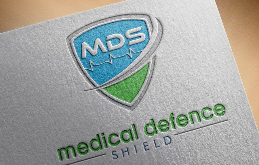 Inscrição nº                                         68                                      do Concurso para                                         Design a new Flat Logo for Medical Defence organisation