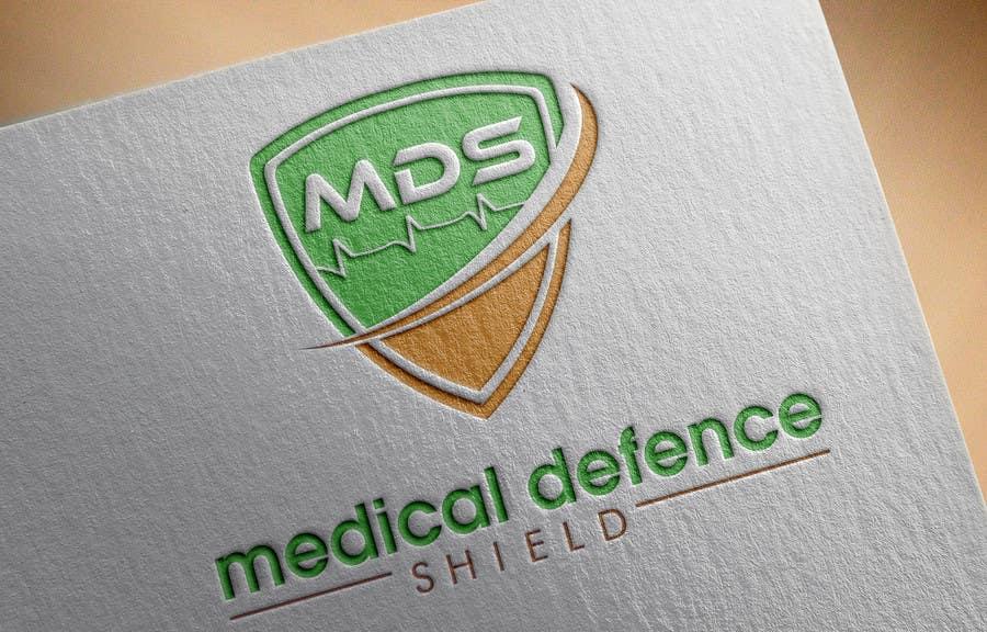Inscrição nº                                         78                                      do Concurso para                                         Design a new Flat Logo for Medical Defence organisation