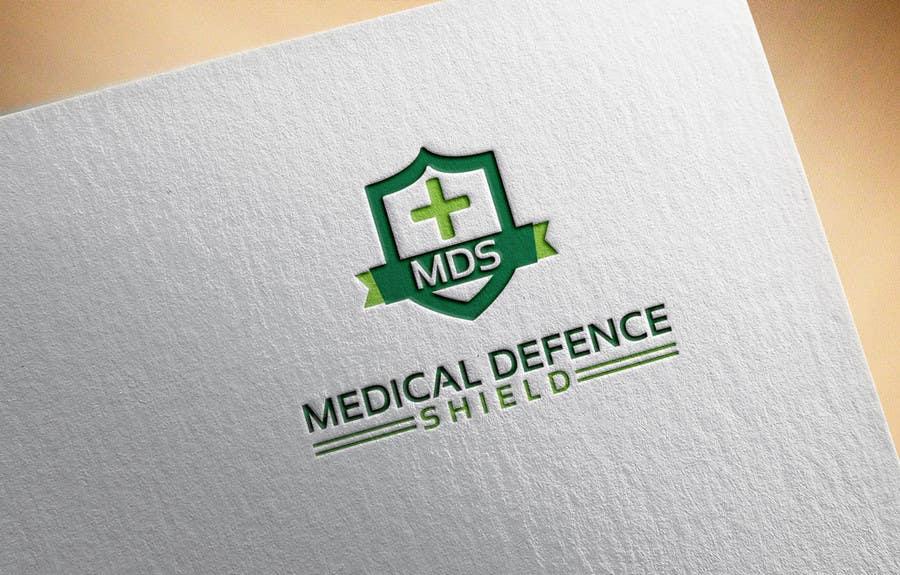Inscrição nº                                         129                                      do Concurso para                                         Design a new Flat Logo for Medical Defence organisation