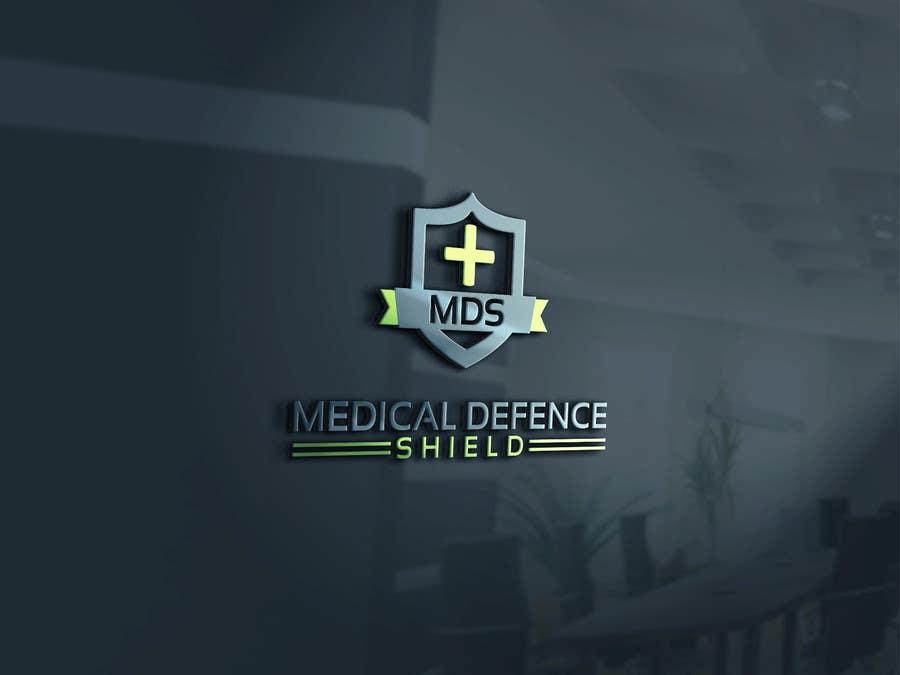 Inscrição nº                                         135                                      do Concurso para                                         Design a new Flat Logo for Medical Defence organisation