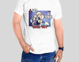 #8 for Dogs Out Tshirt by sandrasreckovic