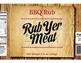 #18 untuk Create Print and Packaging Designs for BBQ Rub Labels oleh Christina850