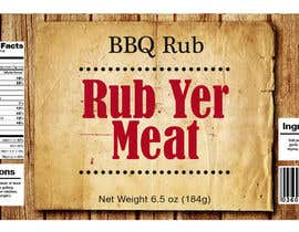 #19 for Create Print and Packaging Designs for BBQ Rub Labels by Christina850