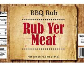#19 cho Create Print and Packaging Designs for BBQ Rub Labels bởi Christina850
