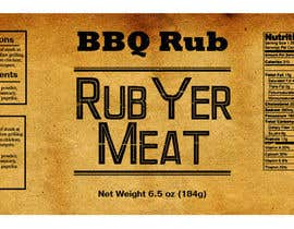 #26 for Create Print and Packaging Designs for BBQ Rub Labels by Christina850