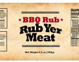 #28 cho Create Print and Packaging Designs for BBQ Rub Labels bởi Christina850