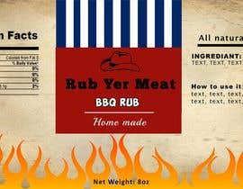 #8 untuk Create Print and Packaging Designs for BBQ Rub Labels oleh starfz
