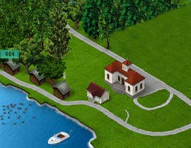 #8 untuk Create two cute maps of a resort oleh ranco81