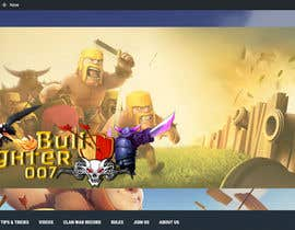 #4 for Build a Website for Clash of Clans team af vdhieu
