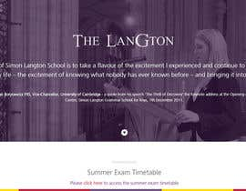 #315 untuk Design a Logo for the Langton School oleh paramiginjr63
