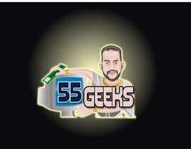 #37 untuk 55 Geeks logo design oleh saliyachaminda