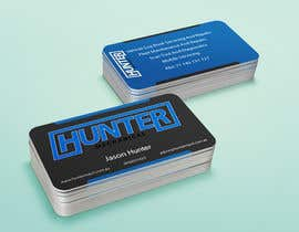 #36 for Design some Business Cards for hunter mechanical by petersamajay