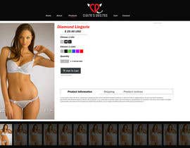 #8 for Create a lingerie website theme by janjuamahad1