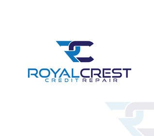 #24 untuk Design a Logo for ROYAL CREST CREDIT REPAIR oleh alyymomin