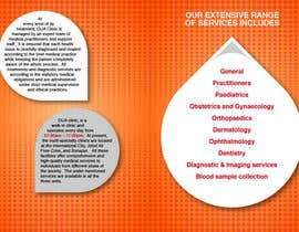 #13 untuk Design a Brochure for a multi-speciality clinic oleh ZhengPeiling